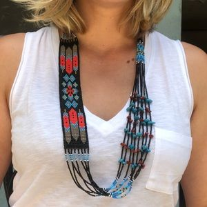 Jewelry - Native American Beaded Necklace